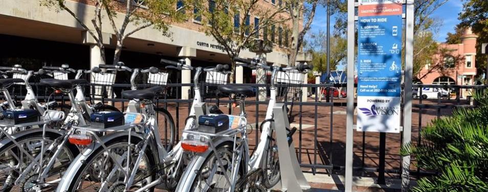 Bikeshare is HERE in Lakeland!