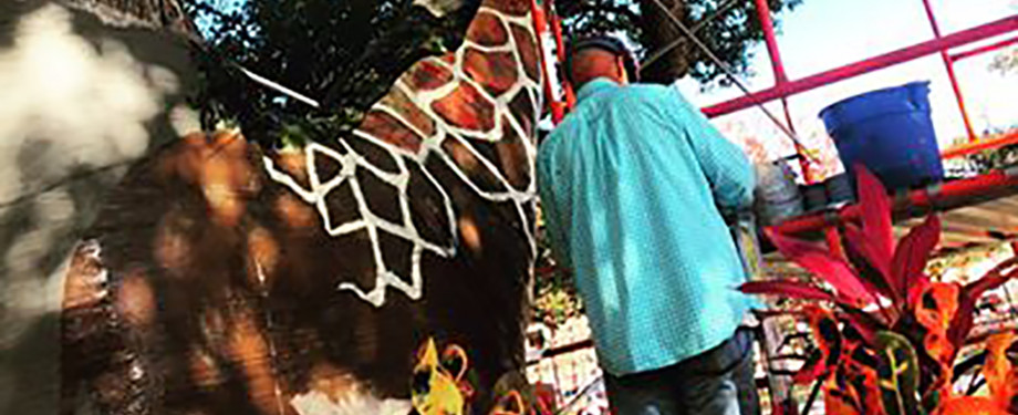 Giraffe – Pop Up Art Project #1!...