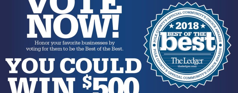 Vote for the Best of the Best in D...