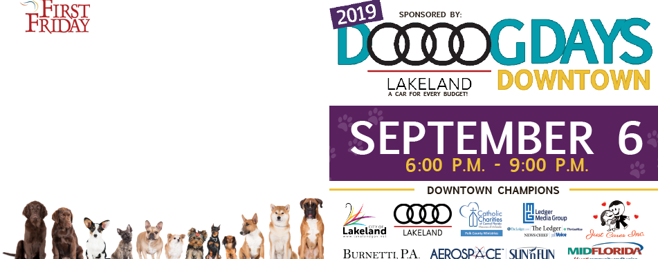 September 6th First Friday: Dog Da...