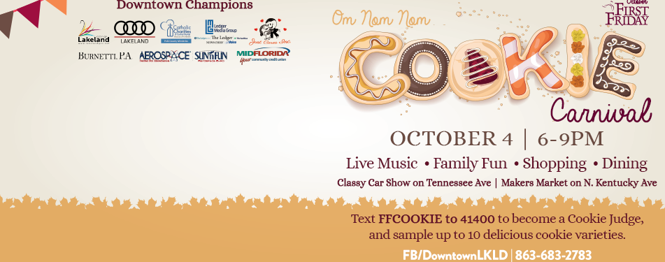 October 4th First Friday: Cookie C...