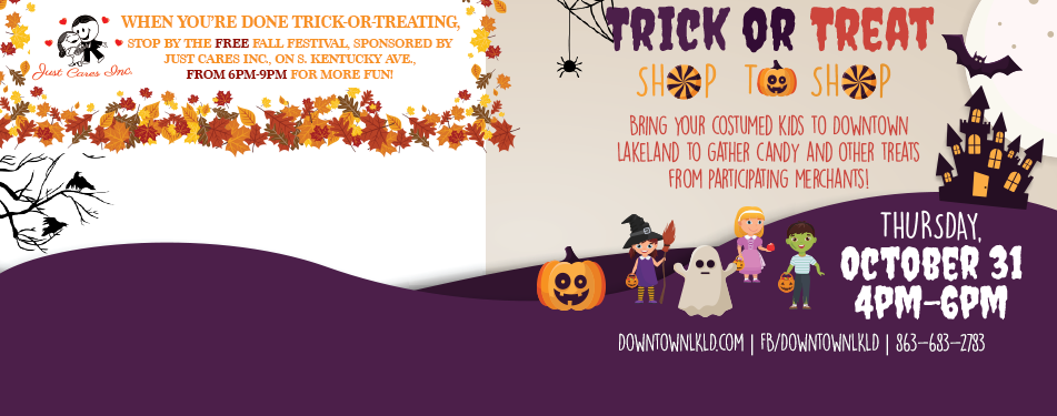 Trick or Treat Shop-to-Shop