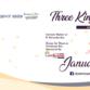 January 3 First Friday: Three King...
